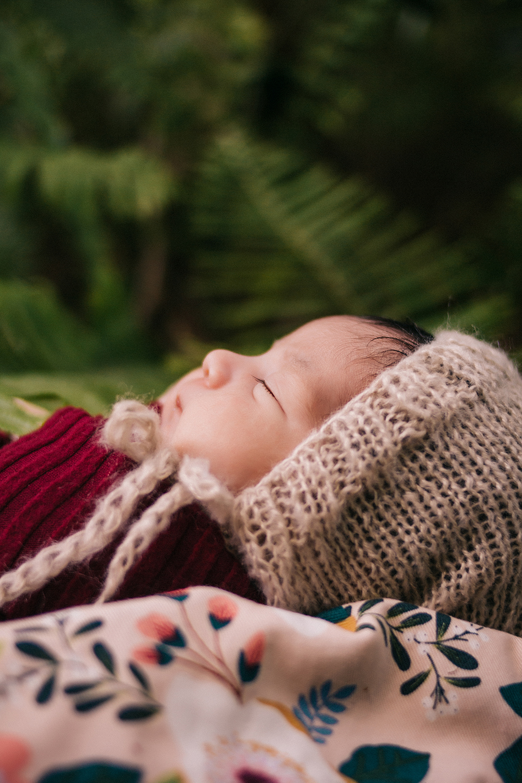outdoor Newborn photography estero florida koreshan state park