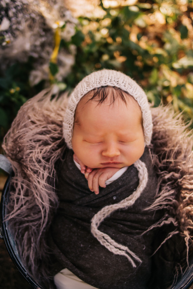 Outdoor newborn photography Fort myers florida
