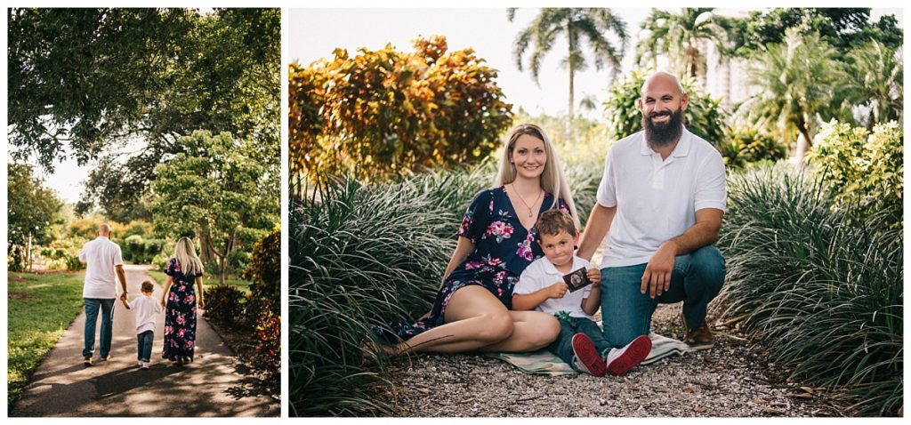 Family Photography Lakes Park Fort Myers Florida