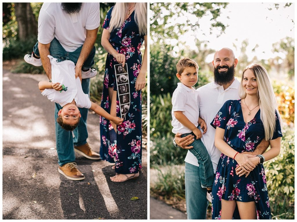 Maternity family photography lakes park fort myers florida