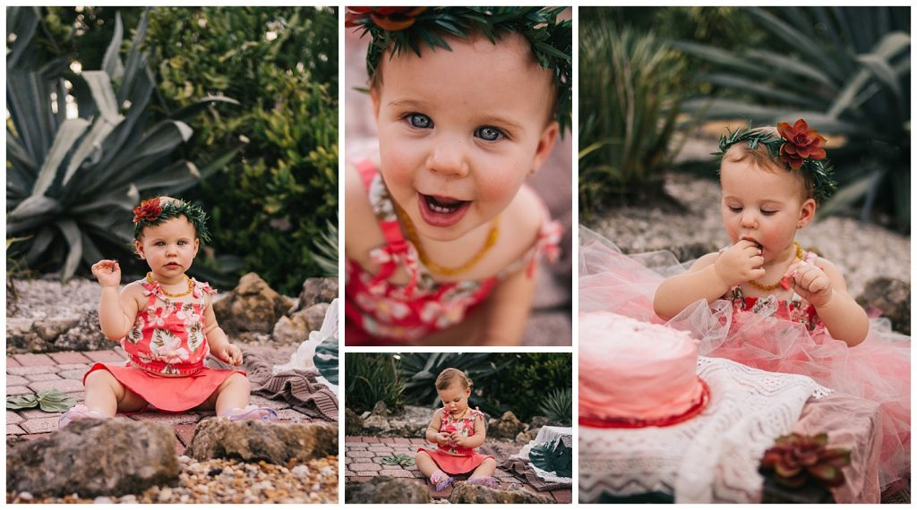 1 Year Old Milestone Childrens Photographer Cape Coral Florida
