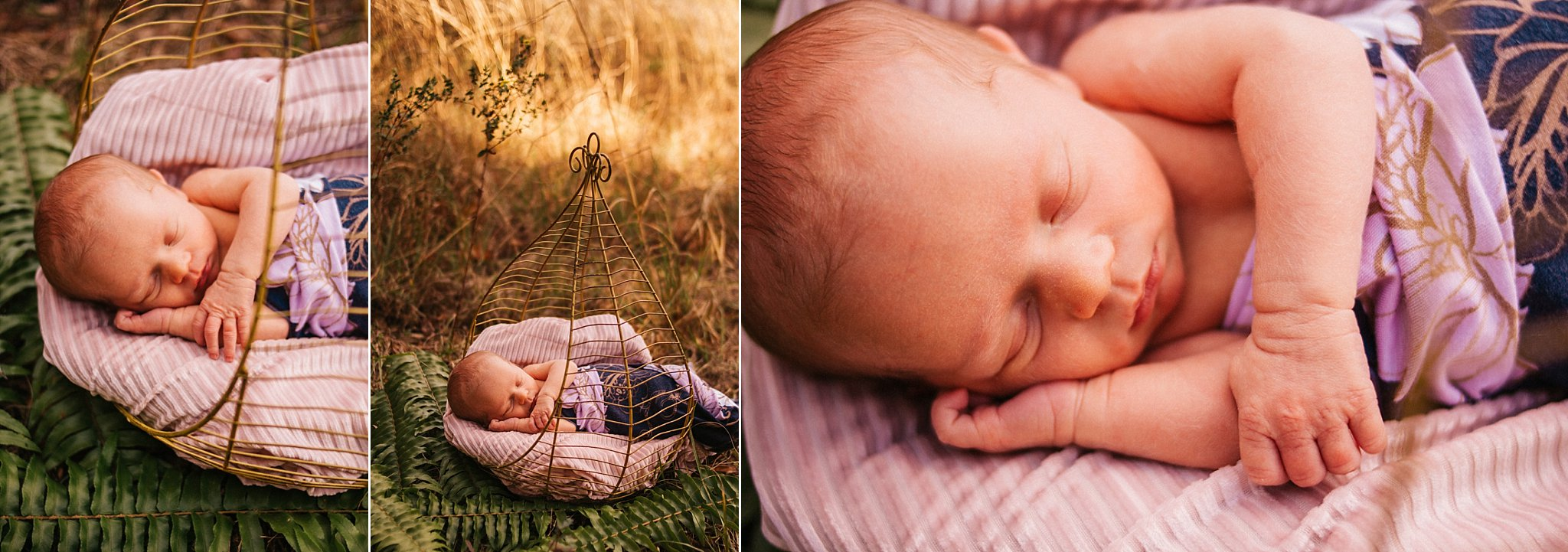 Outdoor Newborn North Fort Myers Photography Caloosahatchee Creeks