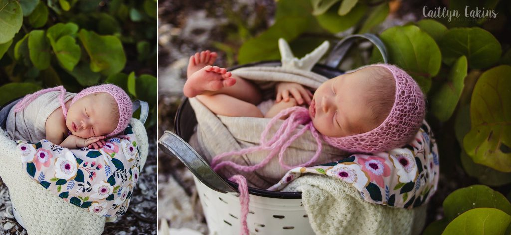 Sanibel Beach Newborn Photography