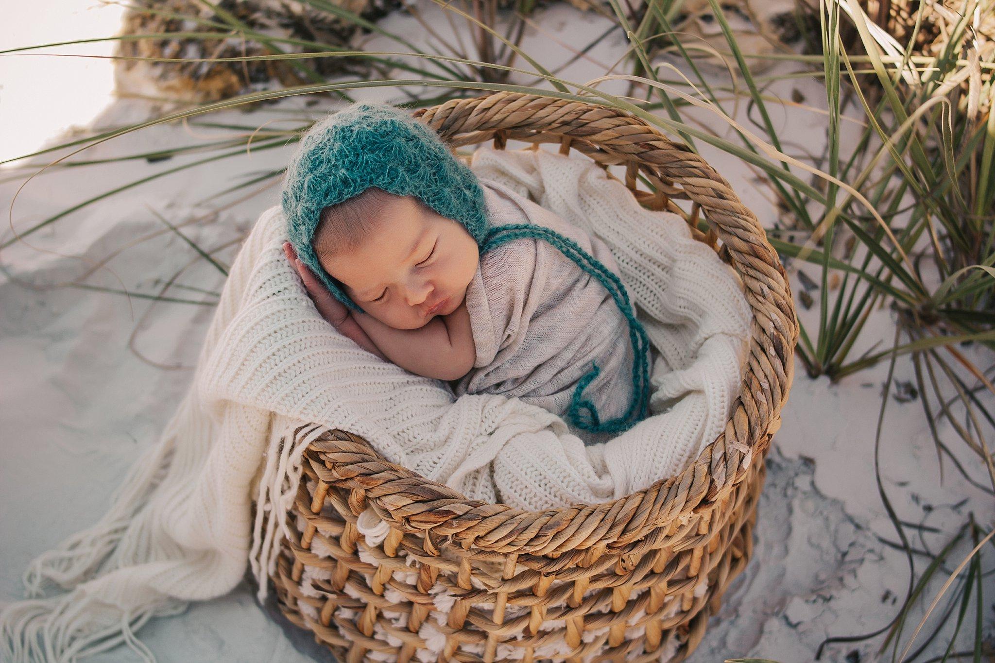 Ella | Fort Myers Beach Newborn Photographer
