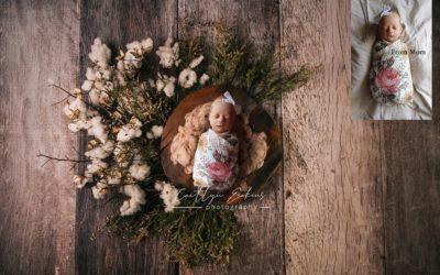 Digital Newborn Photos for Quarantine Babies